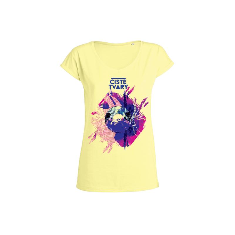 ČT Tour 2015<br>WOMAN Invents Slub Iris Yellow